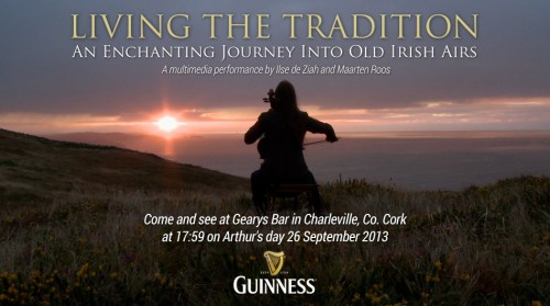 We will do a Live multimedia performance on Arthur's Day 2013