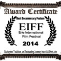 Best Documentary Feature Award for Living the Tradition